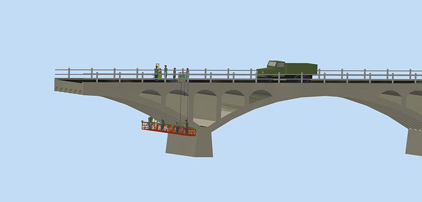 桥梁特种作业车