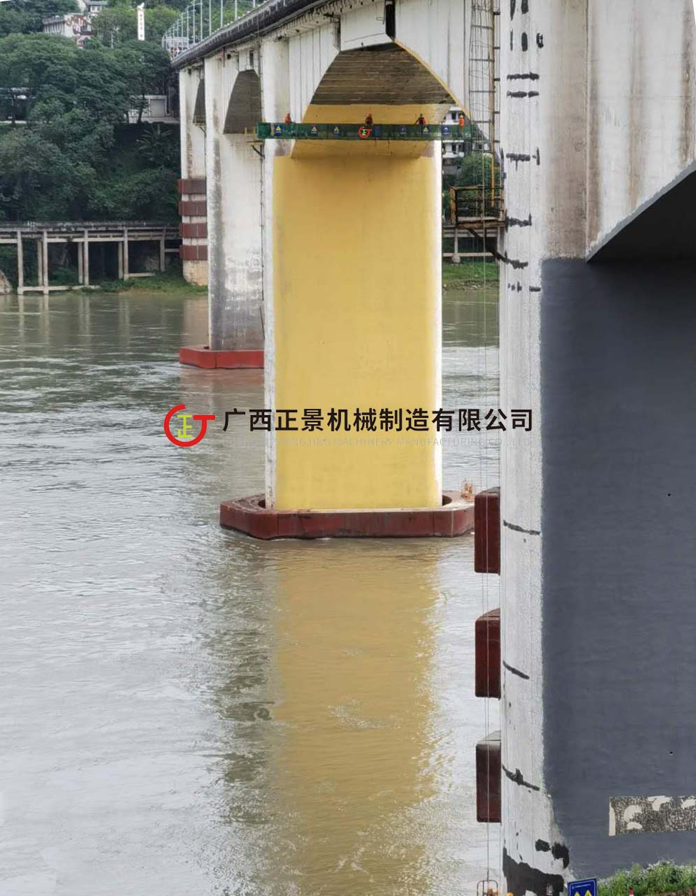 吊篮式桥梁检测车