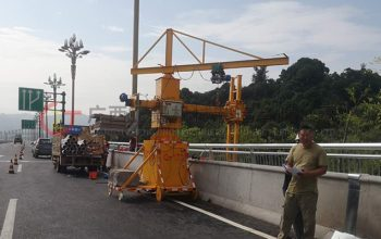 桥梁排水管安装设备——单边桥梁检测车浅析