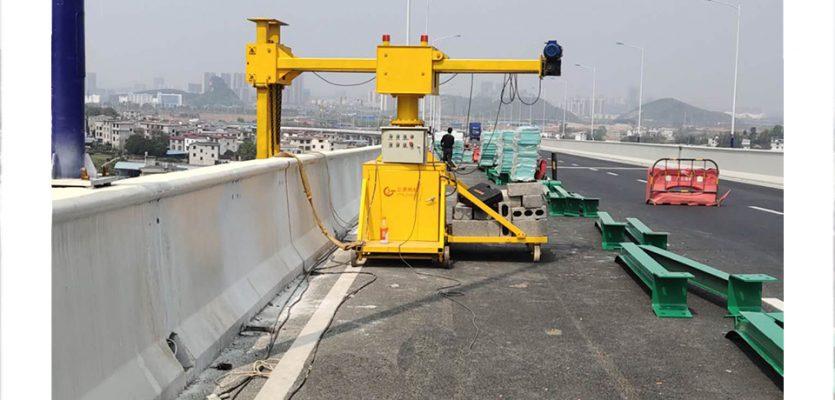 桥梁排水管安装施工设备