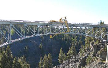桥梁检测车厂家带您看世界:ASPEN AERIALS公司桥梁检测车