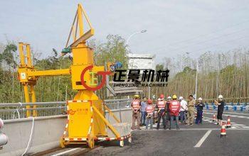 桥梁PVC排水管安装设备——单边桥梁检测车(一代)研制始末