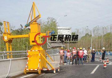 宜宾机场高速大桥桥梁泄水管安装