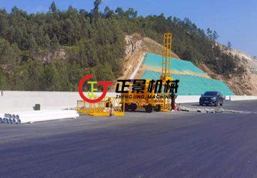 广东江门273省道高速桥下水管安装