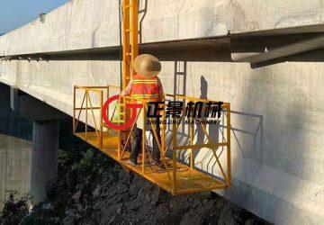 兴义大湾大桥桥梁排水管安装