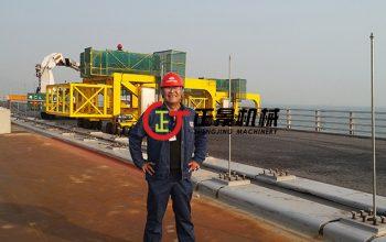 桥梁排水管安装施工设备为什么推荐广西正景机械?理由很简单