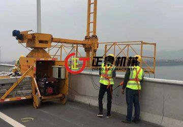 肇庆大桥桥梁雨水管安装
