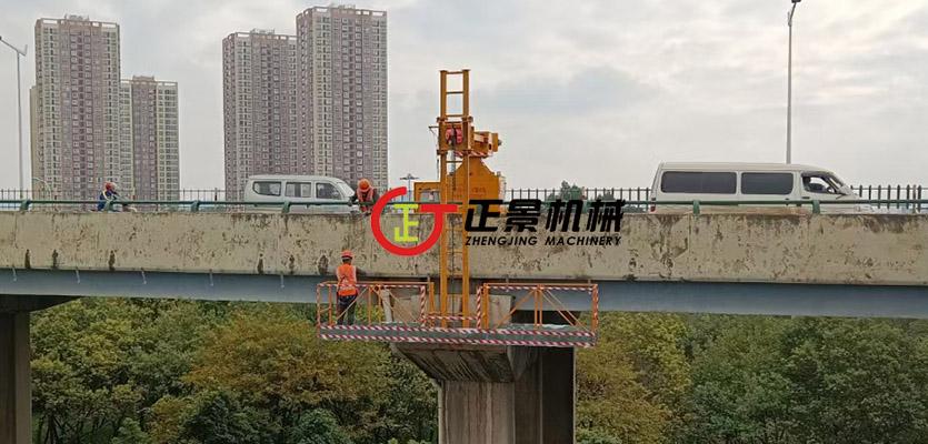 桥梁排水管安装设备