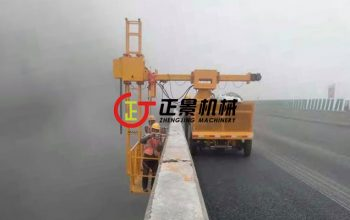 桥梁排水管安装施工车——单边桥梁检测车二代