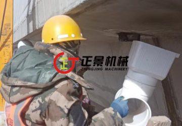 西藏那曲109那拉高速公路雨水管安装