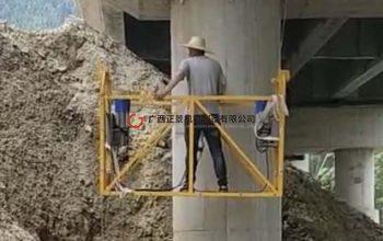 桥梁雨水管安装设备——单边桥梁检测车(一代)施工平台定制风格