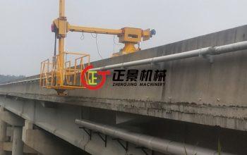 桥梁排水管安装施工车——正景机械单边桥梁检测车系列
