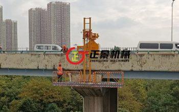 浅谈桥梁雨水管安装施工车——单边桥梁检测车一代